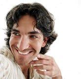 sonrisa del hombre Imágenes de archivo libres de regalías