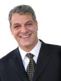 Sonrisa del hombre de negocios Imagen de archivo libre de regalías