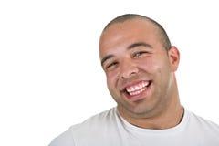 Sonrisa del hombre joven fotos de archivo