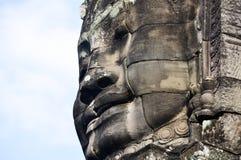 Sonrisa del Khmer imagen de archivo libre de regalías