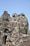 Sonrisa del Khmer Fotos de archivo