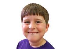 Sonrisa del muchacho Imágenes de archivo libres de regalías