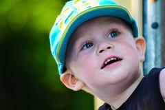 Sonrisa del muchacho Imagen de archivo libre de regalías