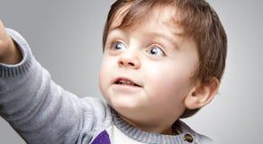 Sonrisa del niño fotografía de archivo libre de regalías