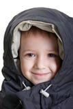 Sonrisa del pequeño niño Fotos de archivo libres de regalías