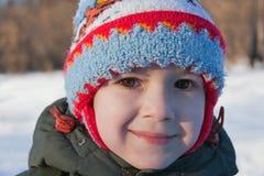 Sonrisa del pequeño niño Fotografía de archivo libre de regalías