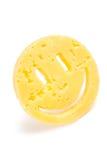 Sonrisa del queso Fotografía de archivo libre de regalías