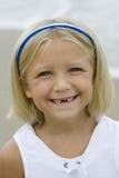 Sonrisa desdentada Foto de archivo libre de regalías
