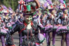 Sonrisa en carnaval imagen de archivo libre de regalías