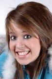 Sonrisa encendido Fotografía de archivo libre de regalías