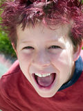 Sonrisa enorme Imagen de archivo libre de regalías