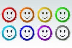 Sonrisa espinosa Imagen de archivo libre de regalías