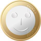 Sonrisa euro Imagenes de archivo