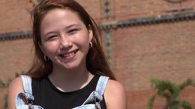 Sonrisa feliz adolescente Fotografía de archivo
