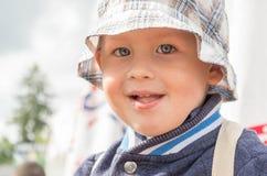 Sonrisa fresca Fotografía de archivo libre de regalías