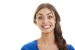 Sonrisa grande Imagen de archivo libre de regalías