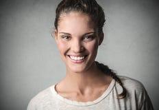 Sonrisa grande Foto de archivo libre de regalías
