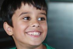 Sonrisa Grande-Dentada Imagenes de archivo