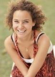 Sonrisa hermosa del adolescente Fotos de archivo libres de regalías