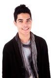Sonrisa hermosa del hombre joven foto de archivo