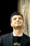 Sonrisa hermosa del hombre joven Fotos de archivo libres de regalías