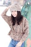 Sonrisa hermosa joven de la mujer Foto de archivo libre de regalías