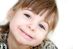 Sonrisa inclinada Fotografía de archivo libre de regalías