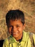 Sonrisa inquisitiva Fotografía de archivo libre de regalías