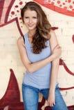 Sonrisa joven, beautyful de la mujer Imágenes de archivo libres de regalías