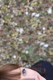 Sonrisa joven de la hembra Fotos de archivo