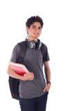 Sonrisa joven del estudiante Fotos de archivo libres de regalías