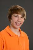 Sonrisa joven del muchacho Foto de archivo libre de regalías