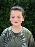Sonrisa joven del muchacho Fotografía de archivo