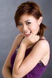 Sonrisa linda de la chica joven Imagen de archivo libre de regalías