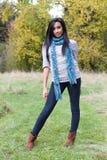Sonrisa linda de la muchacha Imagen de archivo libre de regalías