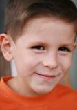 Sonrisa linda del muchacho Foto de archivo libre de regalías