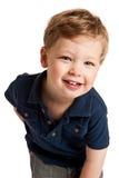 Sonrisa linda del muchacho Fotografía de archivo