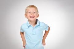 Sonrisa linda del muchacho Foto de archivo