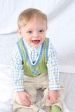 Sonrisa linda del niño pequeño Imagen de archivo