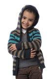 Sonrisa linda del pequeño niño Foto de archivo