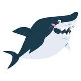 Sonrisa linda del tiburón Imagen de archivo