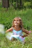 Sonrisa natural del niño foto de archivo