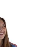 Sonrisa pensativa del adolescente Fotos de archivo