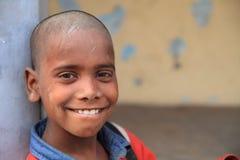 Sonrisa que gana Imagen de archivo libre de regalías