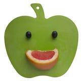 Sonrisa que talla al tablero Foto de archivo libre de regalías