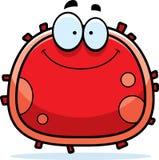Sonrisa roja del glóbulo Imagen de archivo