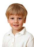 Sonrisa rubia hermosa del muchacho foto de archivo libre de regalías