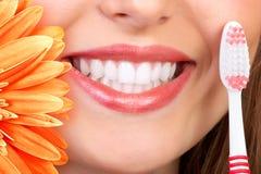 Sonrisa y dientes Imágenes de archivo libres de regalías