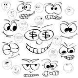 sonrisas ilustración del vector