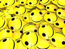 Sonrisas del amarillo Foto de archivo